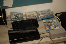 Nintendo Wii U and 6 Games - Pick up in Southampton