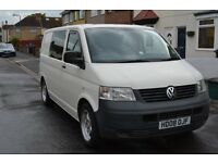 VW T5, converted pannel van - ideal camper