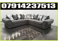 THIS WEEK SPECIAL OFFER BRAND NEW VERONA 3 + 2 OR CORNER SOFA SUITE 4372