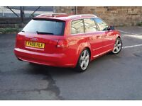Audi A4 Avant Sline 2.0TDI - Full MOT with no Advisories