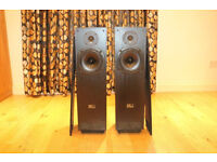 TDL - RTL 2 Transmission line speakers - Mint condition and great sounding speakers
