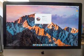 Apple iMac 27 - Original packaging with RAM upgraded to 12GB - macOS High Sierra
