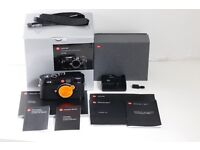 Leica M9 Body. Recently serviced by Leica. New sensor. New leatherette. Shutter count 4146