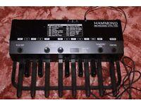 HAMMOND XPK-100 MIDI PEDALBOARD with manual book