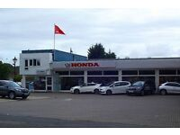 Part-time Weekend Receptionist at Honda Car Dealership in Ottershaw