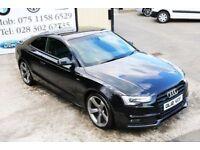 Audi A5 2.0 Tdi Quattro S-line Black edition 177bhp coupe (finance & warranty)