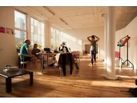 Peckham Warehouse Office / Desk Space / Work Space