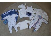 Newborn baby boy 0-3 month bundle - excellent condition
