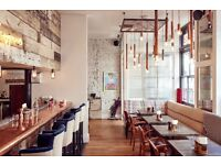 Commis Chef wanted for modern day restaurant in Pimlico, 5 mins walk from Victoria