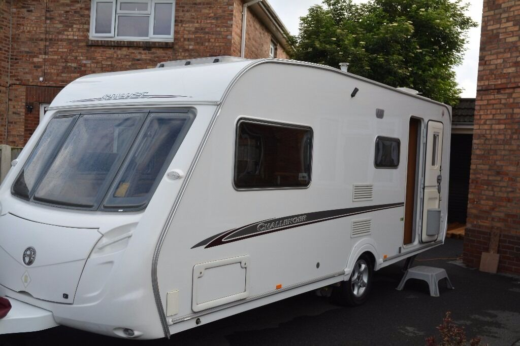 SWIFT CHALLENGER 530 / 4 BERTH CARAVAN 2007 WITH FULL SIZE ...