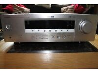 Yamaha RX-V357 AV Receiver 5.1 Channel SS Cinema Theatre Amplifier with brushed metal eltax speakers
