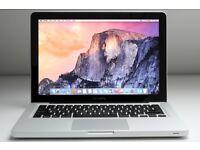 MacBook Pro 13' i7 2.7GHZ 500GB SSD drive 8GB RAM Laptop