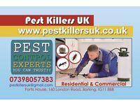 Pest control Ilford,barking,east ham, essex, dagenham, newham, redbridge, forest, hackney, london,