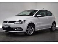 VOLKSWAGEN POLO 1.0 MATCH 3d 60 BHP (white) 2016