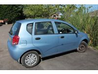 Daewoo Kalos 1.4 petrol blue 11 months MOT low mileage for year bargain £395