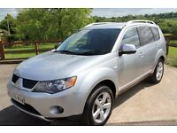 Mitsubishi Outlander 2.0 DI-D Warrior 5dr REAR ENTERTAINMENT 7 SEATS