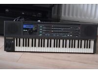 CASIO HT-3000KEYBOARD 61KEYS DUSTCOVER/POWERADAPTER/CANSEE WORKING