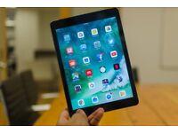 Apple IPad Air 32GB Black Cellular & Wifi With Warranty