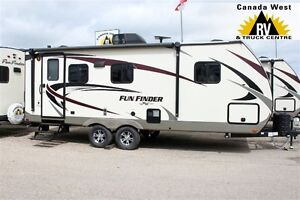 2017 Cruiser RV FUN FINDER 21RB Great Getaway Couples Trailer