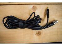 6m Boston XLR Female - 3.5mm Male Cable
