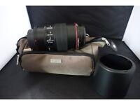 Canon EF Macro Lens 100mm.