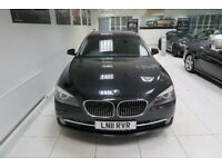 BMW 7 SERIES 3.0 730Ld SE LWB 4dr Auto (black) 2011