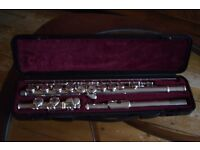 Yamaha 211sII silver plated flute