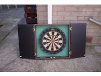 Cabinet Dart Board Great Condition