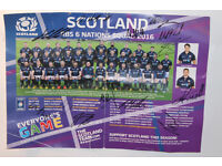 Official Merchandise SCOTLAND RBS 6 NATIONS SQUAD 2016