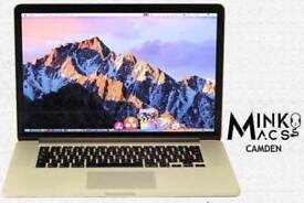15' APPLE RETINA MACBOOK PRO 2.3Ghz i7 QUAD CORE 8GB 250GB SSD LOGIC PRO X ABLETON CUBASE 8 MASSIVE