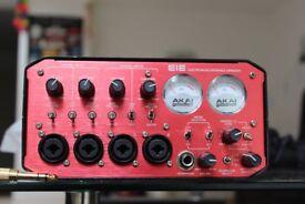 AKAI EIE 4 channel audio interface