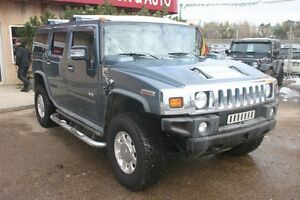 2006 HUMMER H2 4X4,LEATHER,SUNROOF, ROW SEAT