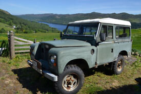 Landrover Series 2a 1966 with matching vintage trailer & loads of extras