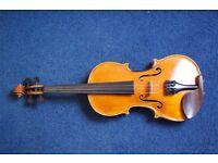 Violin by Elek Bela