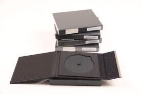 High quality single CD holders x 5.