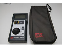 Megger Analog/Digital Hand-Held Insulation Tester; 250, 500 & 1000 V