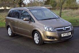 2013 Vauxhall Zafira 1.7 CDTi ecoFLEX 16v Design 5dr (nav) Diesel