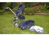 Stokke Xplory V3 Navy including accessories