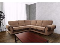 GET YOUR BEFORE CHRISTMAS***GET A 3+2 OR CORNER SOFA, AVAILABLE IN 2 COLOURS