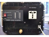 2500w pure sinewave inverter with remote switch panel