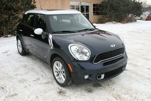 2012 MINI Cooper S Countryman ALL4, AWD, LEATHER, S/ROOF, HTD SE
