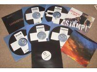 "9 x 12"" Positiva Records Vinyl Collection. ELECTRO / TRANCE"