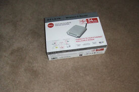 54 Mb Wireless Router complete in original packaging