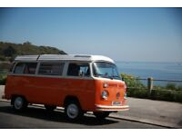 VW Camper Van Hire Cornwall