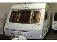 Swift Challenger 480 2 berth 2004 caravan at Thompson Caravans Wrexham