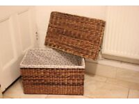 Linen Basket/ toy basket