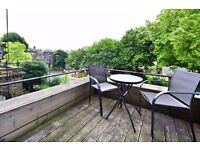 CAMDEN TERRACE NW1: TWO BED, PRIVATE BALCONY, WOODEN FLOORS THROUGHOUT