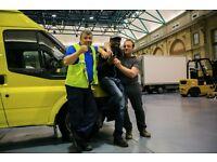 MAN AND VAN REMOVAL SERVICES Woolwich, Docklands, Charlton, Hackney, SE, // VAN HIRE // LONDON UK