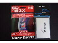FS: BNIB Delkin Devices 16GB SDHC Card & Aluminum SD Card Case