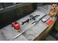 Petrol Mitox 28MT long reach pole hedge trimmer & pruning saw